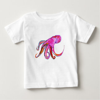 Colorful Octopus Art2 Baby T-Shirt