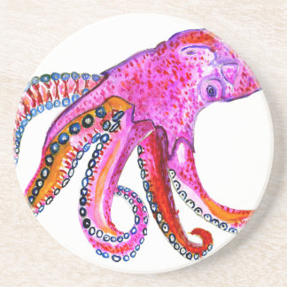 Colorful Octopus Art2 Coaster