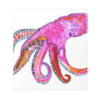 Colorful Octopus Art2 Notepad