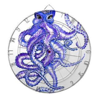 Colorful Octopus Art Dartboard