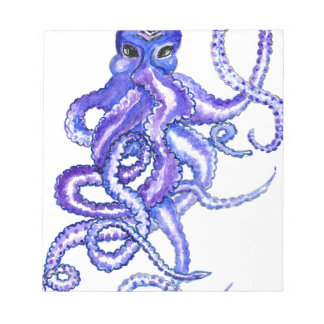 Colorful Octopus Art Notepads