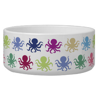 Colorful octopus pattern