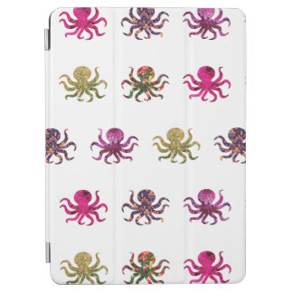 Colorful octopus pattern iPad air cover