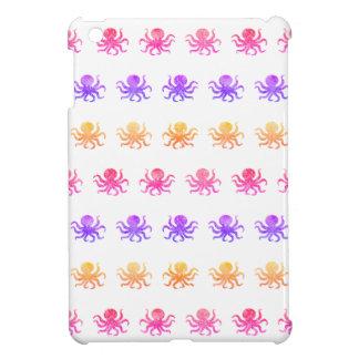 Colorful octopus pattern iPad mini cases