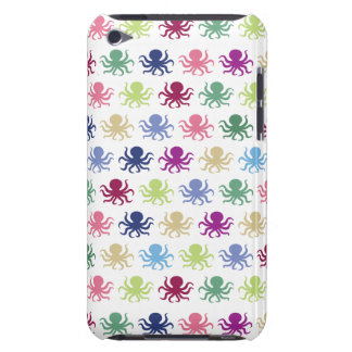 Colorful octopus pattern iPod touch cases
