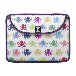 Colorful octopus pattern sleeve for MacBook pro