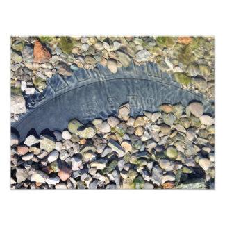 Colorful Ohio River Stones Photo Print
