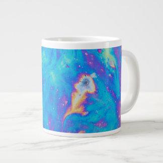 Colorful oil patterns, Canada Large Coffee Mug