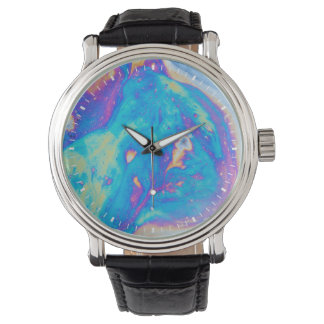 Colorful oil patterns, Canada Watch