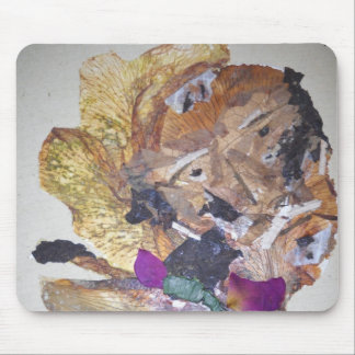 Colorful Old man Mouse Pad