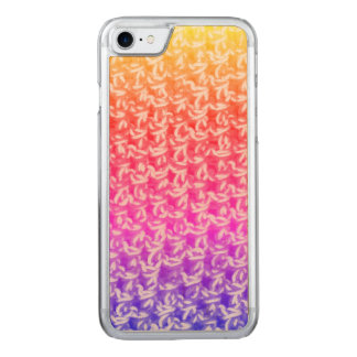 Colorful Ombre Crochet Knit Carved iPhone 8/7 Case