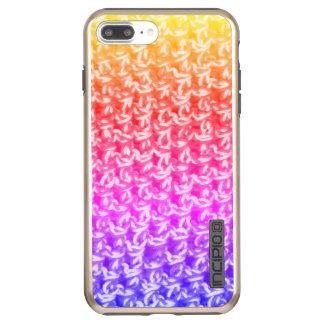 Colorful Ombre Crochet Knit Incipio DualPro Shine iPhone 7 Plus Case