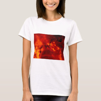 Colorful Orange Rosette Nebula T-Shirt
