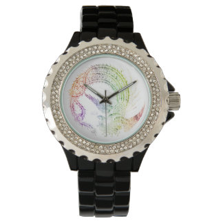 Colorful Oriental Phoenix Wrist Watches