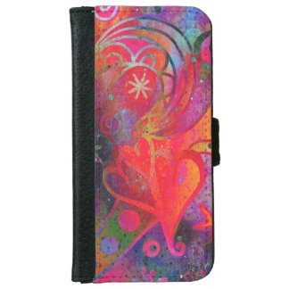 Colorful Original Design Smart Phone Wallet Case
