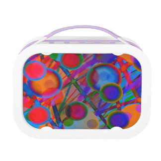 "Colorful Original Lunchbox ""Big Bubbles"""