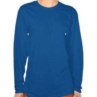 Colorful Ornaments Deep Royal Blue Long Slv Shirt