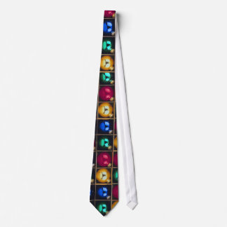 Colorful Ornaments In A Box Tie