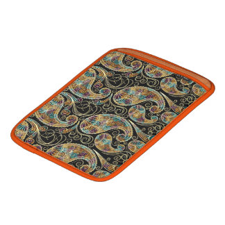 Colorful Ornate Elegant Vintage Paisley iPad Sleeve
