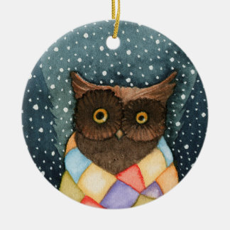 Colorful Owl Ornament