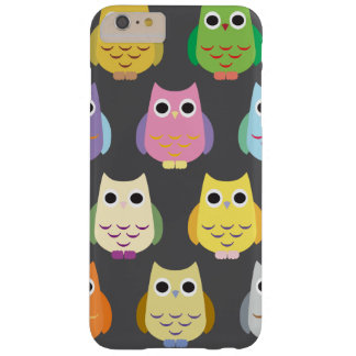 Colorful Owls Barely There iPhone 6 Plus Case