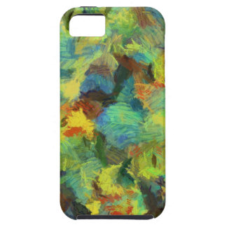 Colorful paint abstract art iPhone 5 cover