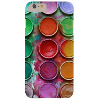 Colorful Paint Color Box Palette Pattern Barely There iPhone 6 Plus Case