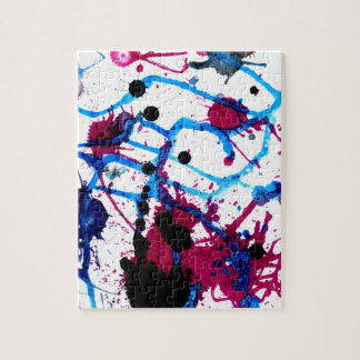 Colorful Paint Drips 12 Puzzles
