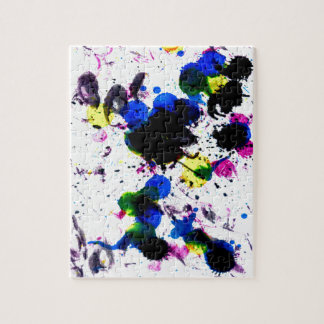 Colorful Paint Drips 3 Jigsaw Puzzle