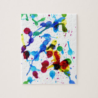 Colorful Paint Drips 4 Puzzles