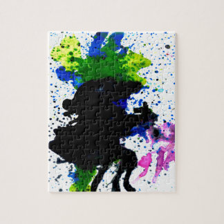 Colorful Paint Drips 5 Puzzle