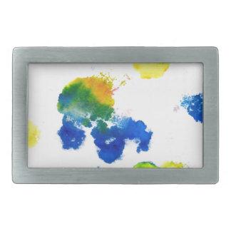Colorful Paint Drips 6 Belt Buckle