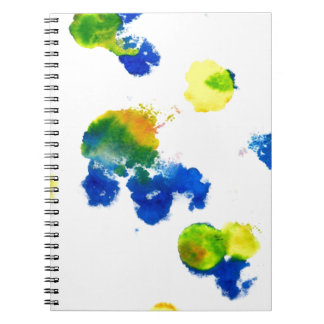 Colorful Paint Drips 6 Note Book