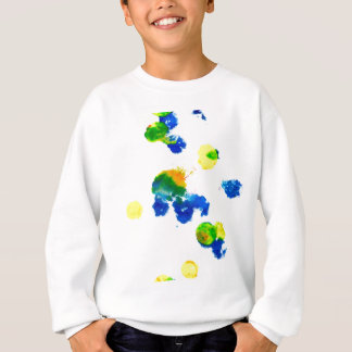 Colorful Paint Drips 6 Sweatshirt
