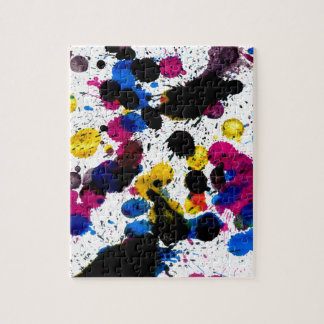 Colorful Paint Drips 7 Puzzle