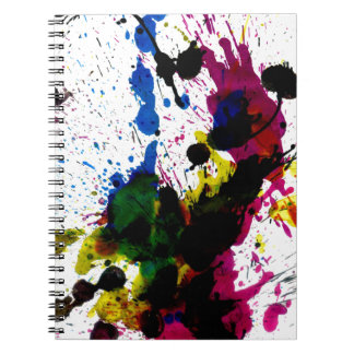 Colorful Paint Drips 8 Notebooks