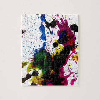 Colorful Paint Drips 8 Puzzle