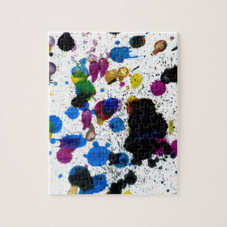 Colorful Paint Drips Puzzle