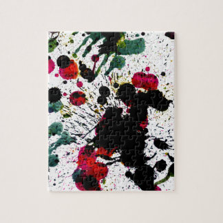 Colorful Paint Drips Puzzles