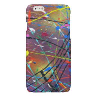 Colorful Paint Drizzle Drops
