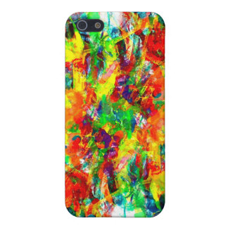 Colorful paint Speck Case