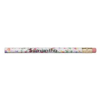 Colorful Paint Splatter Personalized Pencils