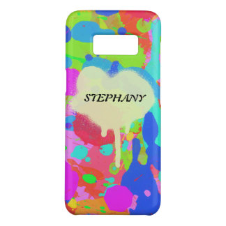 Colorful paint stains Case-Mate samsung galaxy s8 case