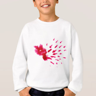 Colorful Paint Stroke pink Sweatshirt