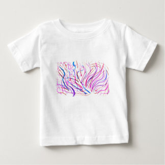 Colorful Paint Strokes 4 Baby T-Shirt