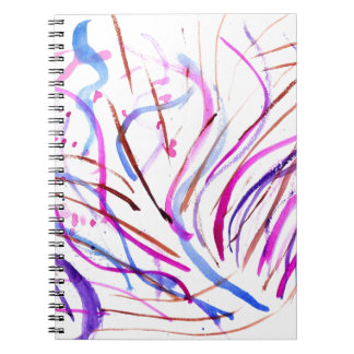 Colorful Paint Strokes 4 Notebook