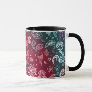 Colorful Paisley Mug