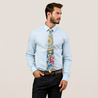 Colorful Paisley pattern Tie
