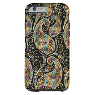 Colorful Paisley Pattern Tough iPhone 6 Case