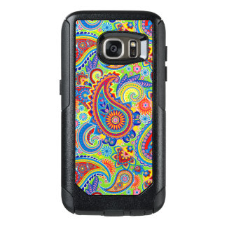 Colorful Paisley Seamless Pattern OtterBox Samsung Galaxy S7 Case